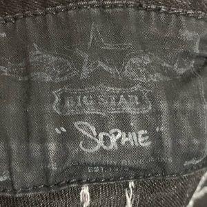 Big Star Jeans - Big Star Sophie Black 28L Long Women's Jeans